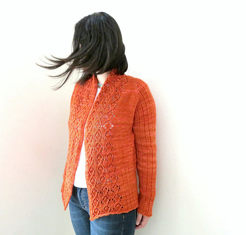 Taroko Knitted Cardigan Pattern by YellowCosmo