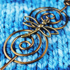 Dragonfly Shawl Pin