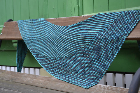 UnChained Melody Knit Shawl Pattern