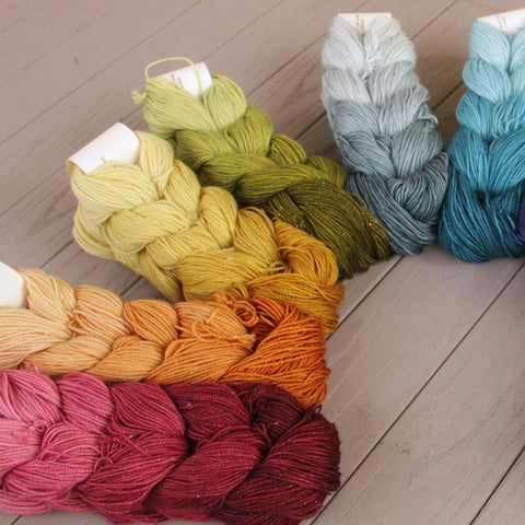 Why Knot Fibers Stardust Ombre Minis