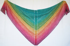 Apparent Plot Triangle Shawl