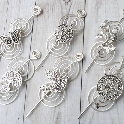 Charmed Shawl Pins