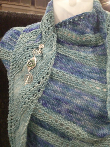 shawl pin style fairy tale knits