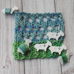 Suavest Sheep - End Minders for Knit and Crochet