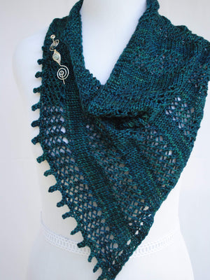Pattern, Apparent Glitz Knit Shawl PDF Download - Crafty Flutterby Creations