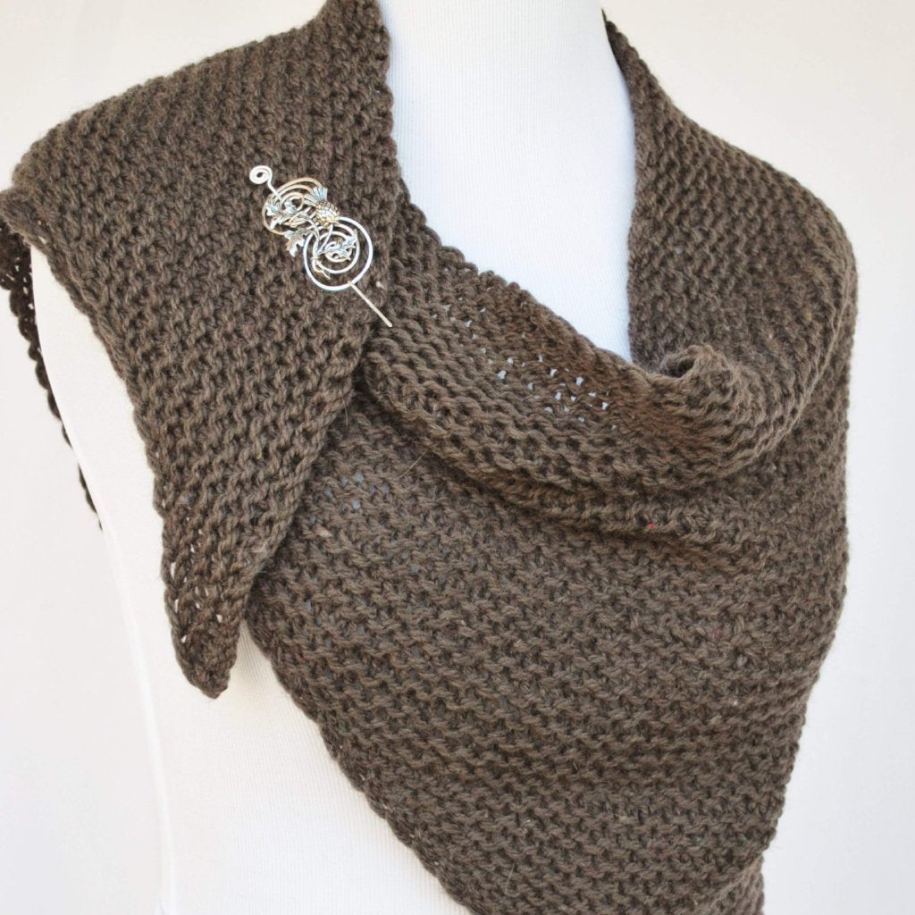 Apparent Outlander Knit Shawl PDF Download Apparent Comfort Collection-Crafty Flutterby Creations