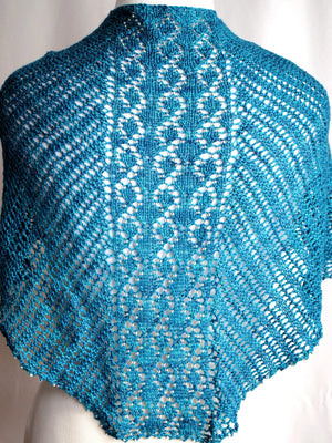 Crystal Helix Shawl Knitting Pattern Pdf Download Crafty Flutterby