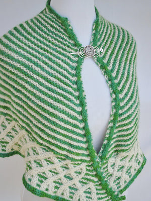 Pattern, Dunalastair Knit Shawl PDF Pattern Download - Crafty Flutterby Creations