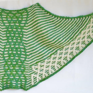 Dunalastair Knit Shawl PDF Pattern Download-Pattern-Crafty Flutterby Creations