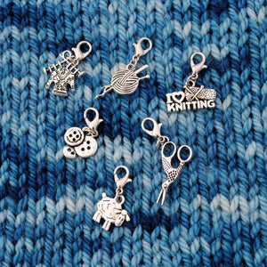 Useful Accessories, Knit Progress Keepers or Stitch Markers - Crafty Flutterby Creations