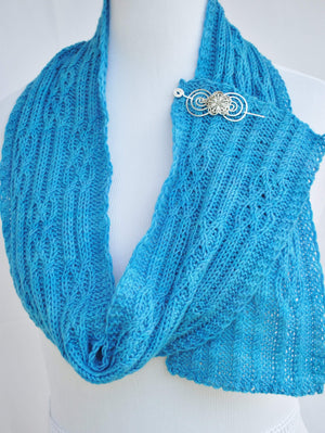 Pattern, Lavant Knit Scarf Pattern PDF - Crafty Flutterby Creations
