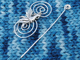 Phoenix Shawl Pin - Charmed Silver Fandoms and Inspirations-Shawl Pin-Crafty Flutterby Creations