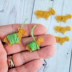 Archived, Pot O Gold Loose Ends Critter Sets for Knit and Crochet - March Limited Edition - Crafty Flutterby Creations