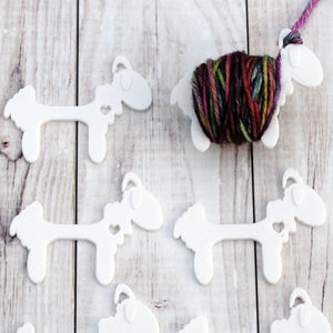 Useful Accessories, Sensational Sheep - Yarn Bobbins for Knit or Crochet Colorwork - Crafty Flutterby Creations