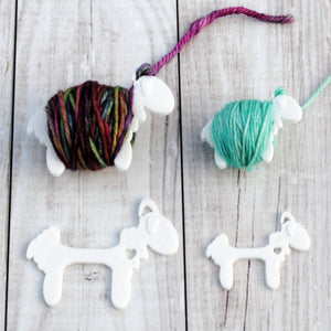 Sensational Sheep - Yarn Bobbins for Knit or Crochet Colorwork-Useful Accessories-Crafty Flutterby Creations