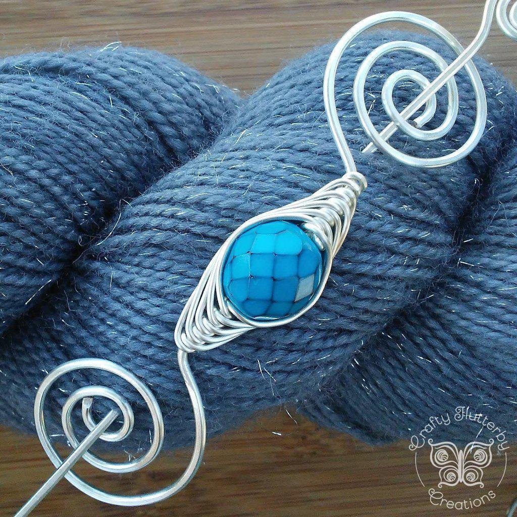 Sky Dragon Scales Shawl Pin - Noteworthy Silver - Last Chance!-Shawl Pin-Crafty Flutterby Creations