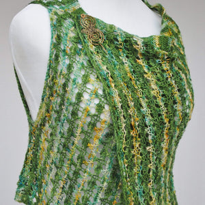 Pattern, Suavest Hues Knit Vest PDF Download - Crafty Flutterby Creations