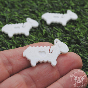 Useful Accessories, Suavest Sheep - End Minders for Knit and Crochet - Crafty Flutterby Creations