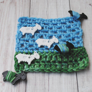 Suavest Sheep - End Minders for Knit and Crochet-Useful Accessories-Crafty Flutterby Creations