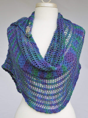 Pattern, Titchfield Knit Wrap Pattern PDF Downlaod - Crafty Flutterby Creations