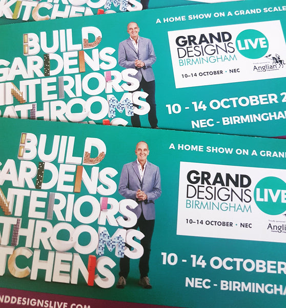 Grand Designs Live ticket giveaway!