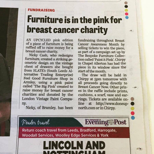 'Paint it Pink' in the papers!