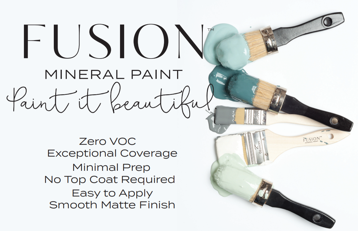 Why Fusion Mineral Paint infographic