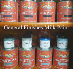 Buy General Finishes Milk Paint all colours and sizes from Done up North