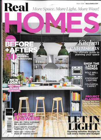 Real Homes issue cover with Done up North featured