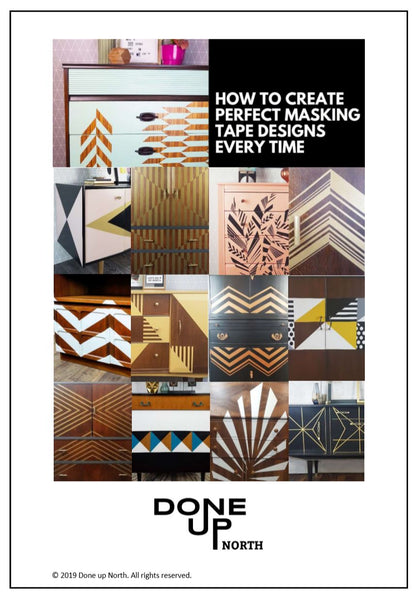 Done up North Masking Tape Workbook front cover