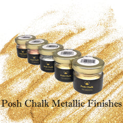 Posh Chalk Metallics Pigments and Paste