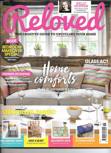 Reloved magazine cover Feb 2018
