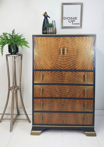 Done up North signature style design Drinks Cabinet