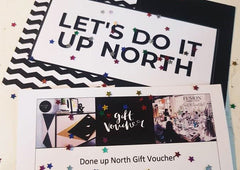Done up North Upcycling Gift Voucher workshops