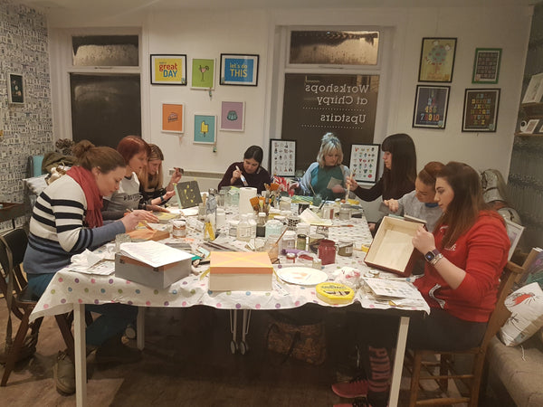 Intro to furniture painting workshop - Thursday 20th September