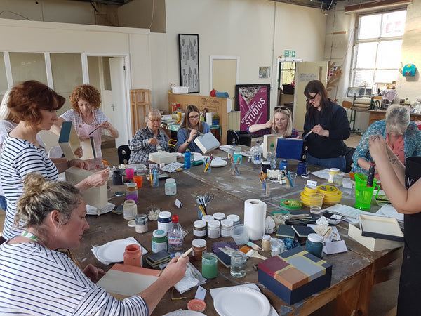 Christmas box / furniture painting workshop - Saturday 8th December
