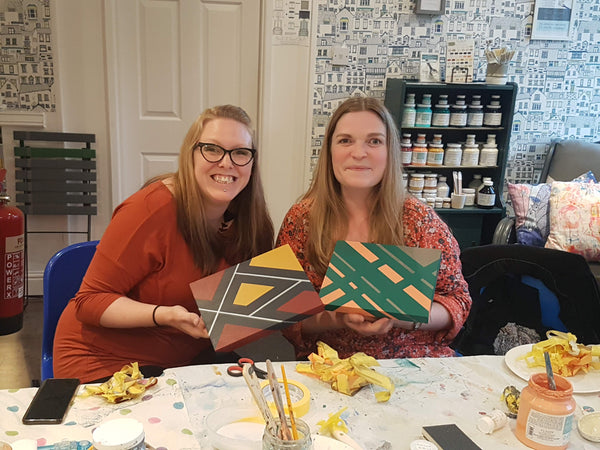 Intro to furniture painting workshop - Thursday 18th October