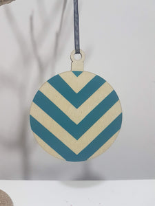 Done up North geometric baubles