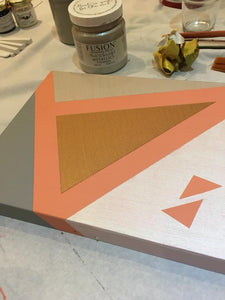 Geometric Box Workshop - Masking Tape Designs - 21st November