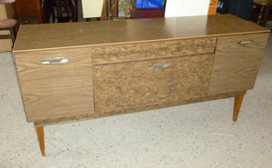 Formica Walnut veneer effect sideboard