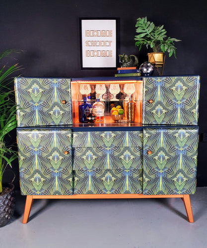 Art Deco Cocktail Sideboard.