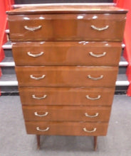 Tall MCM Chest of Drawers