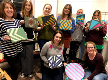 Geometric Box Workshop - Furniture painting & design - 21st November