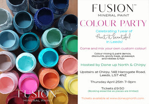 Fusion Colour Party - a 1 year anniversary celebration at Chirpy!
