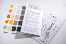 Fusion Mineral Paint True Colour card