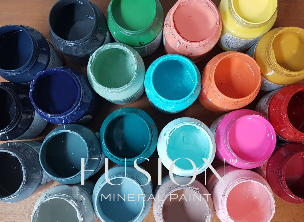 Fusion Mineral Paint Special Open pots drop in at Chirpy!  Sat 14th March
