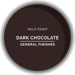 General Finishes Milk Paint - Dark Chocolate
