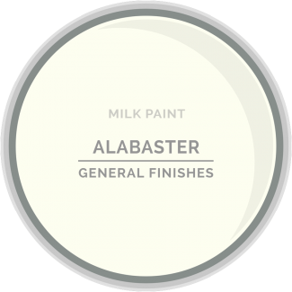 General Finishes - Milk Paint  Alabaster