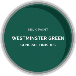 General Finishes Milk Paint - Westminster Green