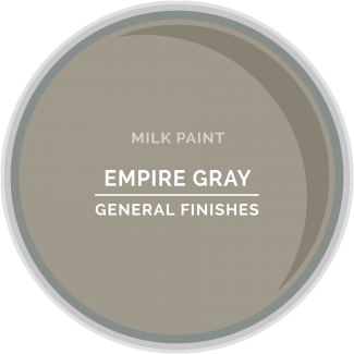 General Finishes - Milk Paint- Empire Gray